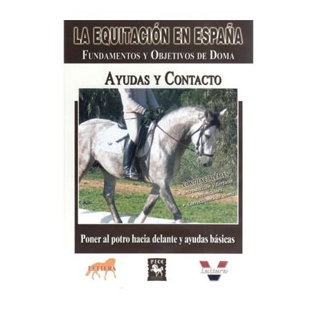 DVD: EQUITACION/ESPAÑA AYUDA Y CONTACTO
