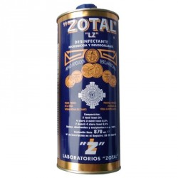 ZOTAL Desinfectante, Microbicida, Fungicida y Desodorizante