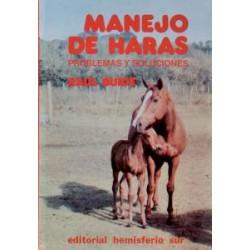 LIBRO MANEJO DE HARAS, PROBLEMAS Y SOLUCIONES