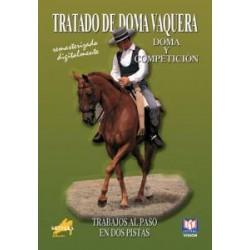 DVD TRATADO DE DOMA VAQUERA TRABAJOS AL PASO EN DOS PISTAS