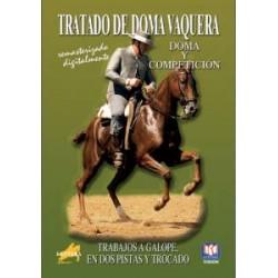 DVD TRATADO DE DOMA VAQUERA TRABAJOS A GALOPE, EN DOS PISTAS Y T