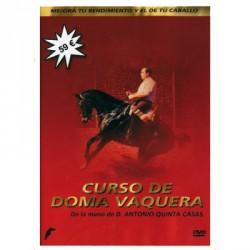 DVD CURSO DE DOMA VAQUERA DE LA MANO DE D. ANTONIO QUINTANA CASA