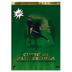 DVD CURSO DE ALTA ESCUELA DE LA MANO DE D. LUIS CALDERÓN FUENTES