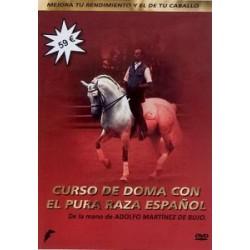 DVD CURSO DE DOMA CON EL PURA RAZA ESPAÑOL DE LA MANO DE ADOLFO