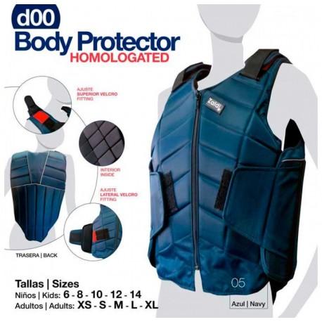 PROTECTOR BODY HOMOLAGADO D00 AZUL