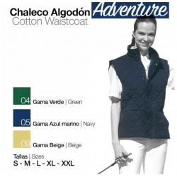 CHALECO ALGODON ADVENTURE