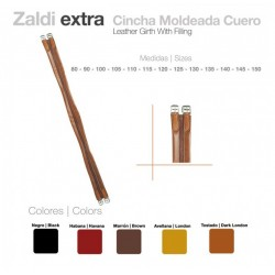 CINCHA MOLDEADA CUERO USO GENERAL ZALDI S/ELAST.