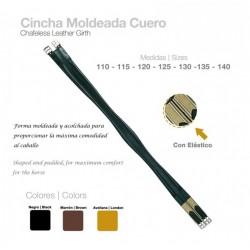 CINCHA MOLDEADA CUERO USO GENERAL CASTECUS C/ELAST.