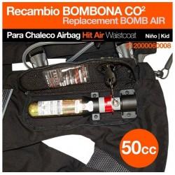 BOMBONA CO2 PARA CHALECO AIRBAG