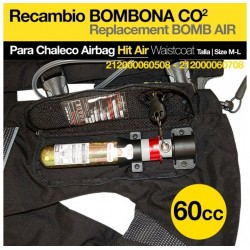 CHALECO AIRBAG HIT AIR BOMBONA 60CC
