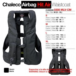 CHALECO AIRBAG. HIT AIR MLV-CM TALLA: M (S-XL) NG