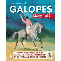 LIBRO CURSO EQUITACION GALOPES Nº 1-4