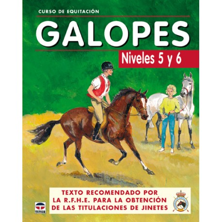LIBRO CURSO EQUITACION GALOPES Nº 5-6